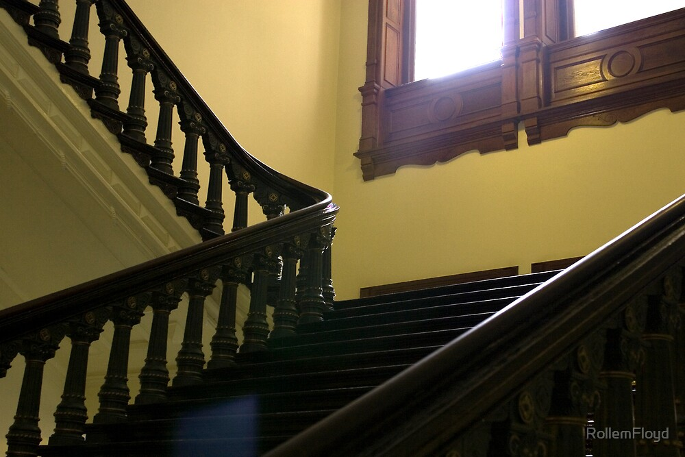 Capitol Staircase by RollemFloyd