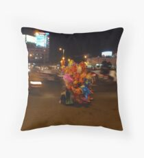 amidst the chaos there is light Throw Pillow