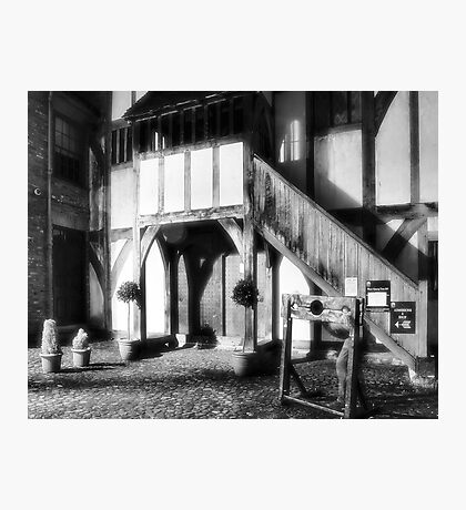 Ghosts of Barley Hall Photographic Print