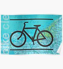 Fahrrad Ohio Poster