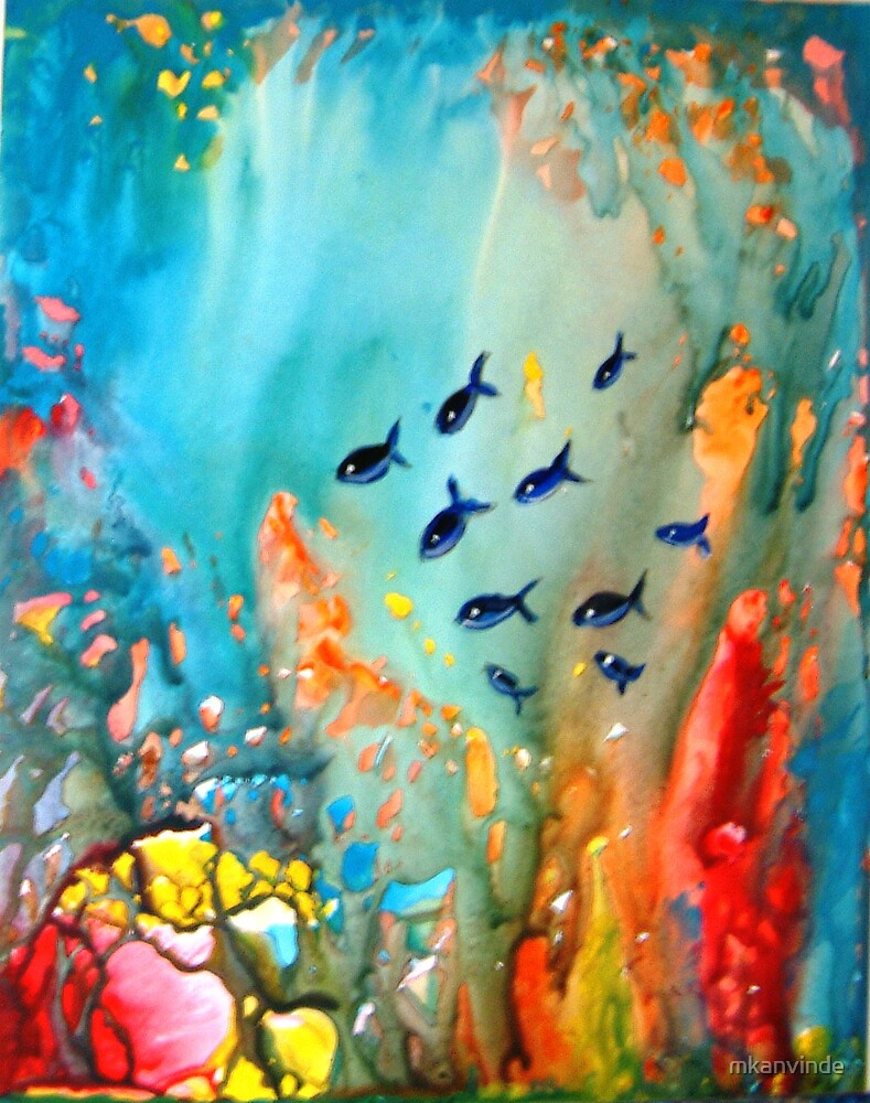 Underwater Magic by mkanvinde