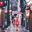 Geisha In Kyoto by HimanshiShah