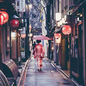 Geisha in Kyoto von HimanshiShah