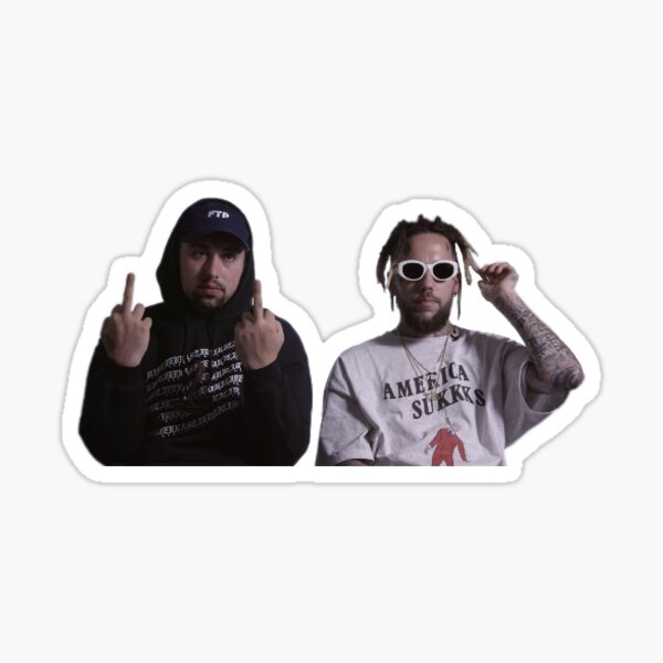 Suicideboys sticker 2  Sticker