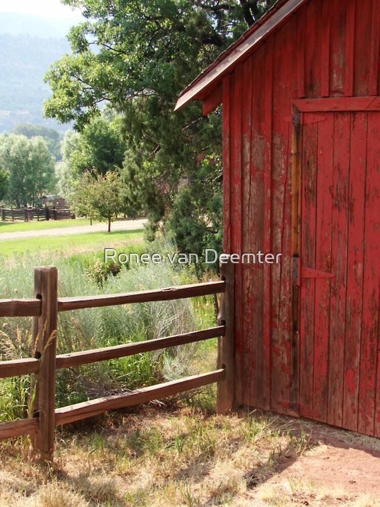 Farmland in Colorado by Ronee van Deemter