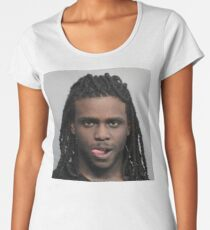 Chief Keef Mugshot Women's Premium T-Shirt