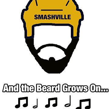 Nashville Predators - Smashville T Shirt by Just4doglovers