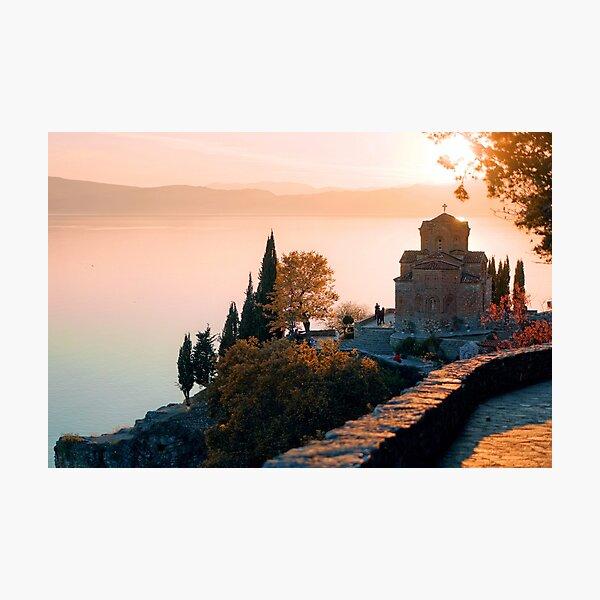 Ohrid, Macedonia Photographic Print