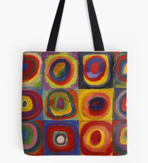 Color Study. Squares with Concentric Circles 1913 Tote Bag