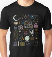 Camiseta ajustada Ático embrujado