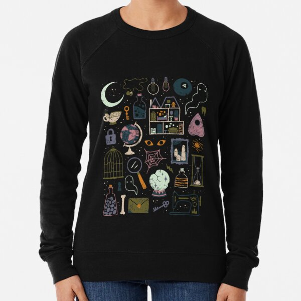 Haunted Attic Lightweight Sweatshirt