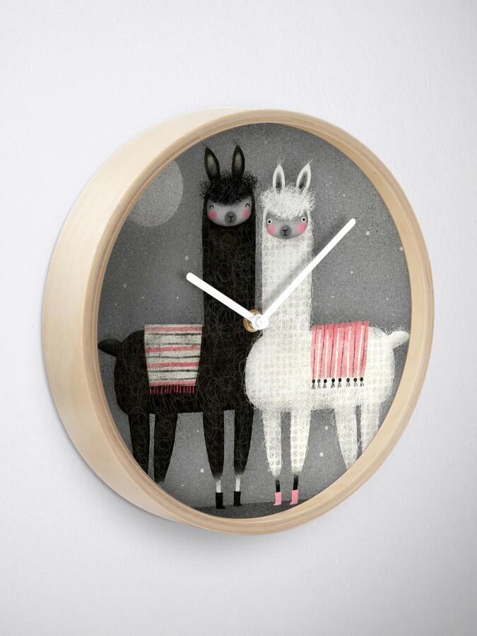 Alternate view of ALPACAS Clock