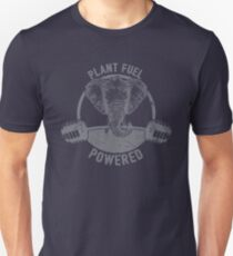 Plant Fuel Powered Vegan Elephant - Funny Veganism Quote Gift Unisex T-Shirt