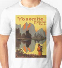 Yosemite National Park Vintage Travel Poster Unisex T-Shirt