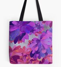 purple garden Tote Bag