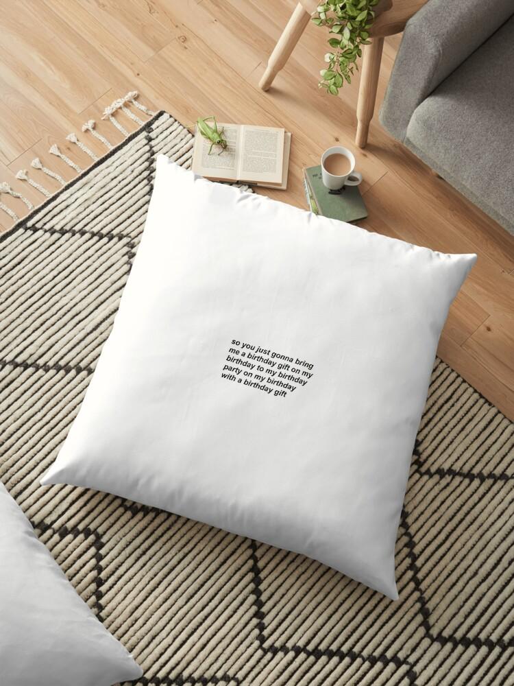 Tyler The Creator Birthday Vine Floor Pillows By Sabinalew10
