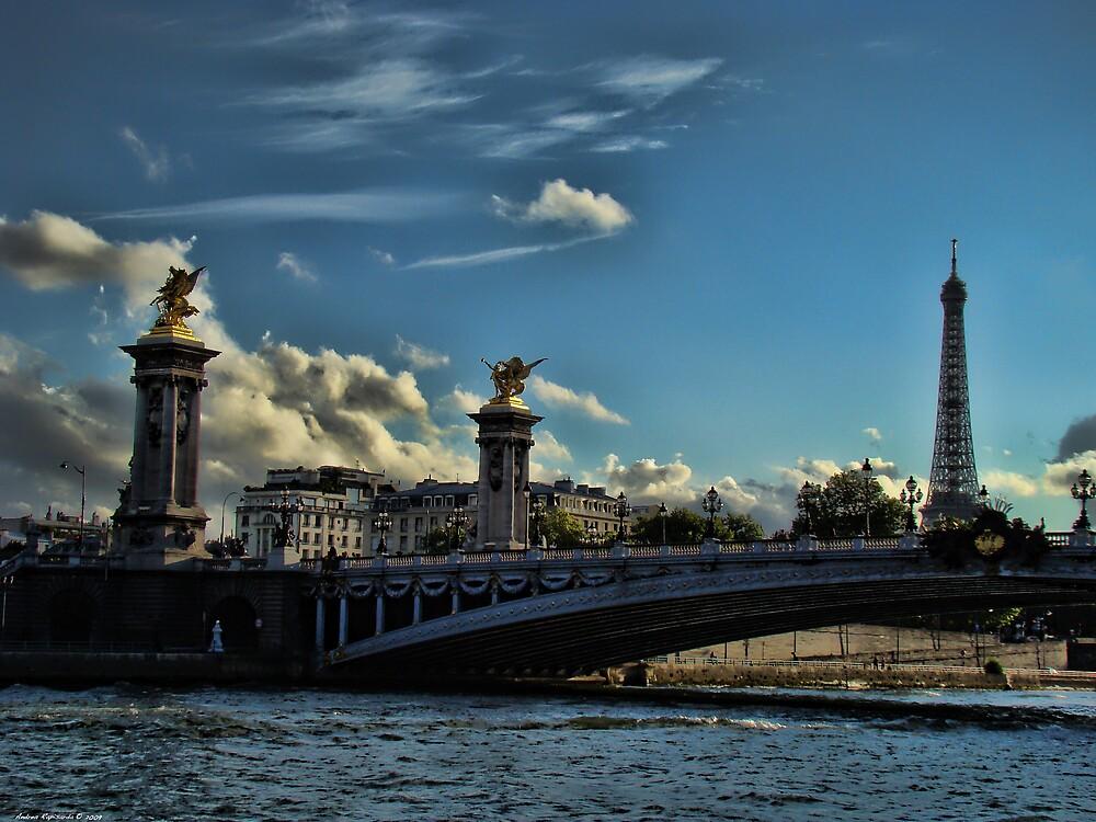 Pont Alexandre III, Paris by Andrea Rapisarda