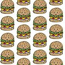 Hamburger pattern by Dewychan