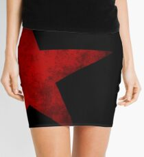 Red Star of the Winter Soldier Mini Skirt