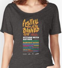 Festival of the Banned 2018 - Dark Theme Women's Relaxed Fit T-Shirt