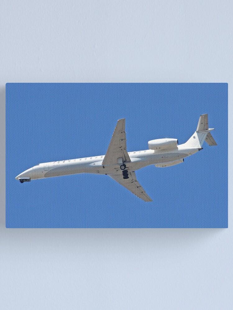 Alternate view of Embraer Passenger Jet Canvas Print