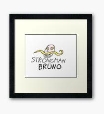Strongman Bruno Framed Print