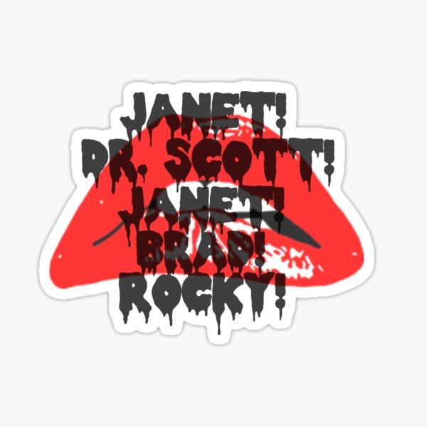 Rocky Horror Picture Show Chant Scene Sticker