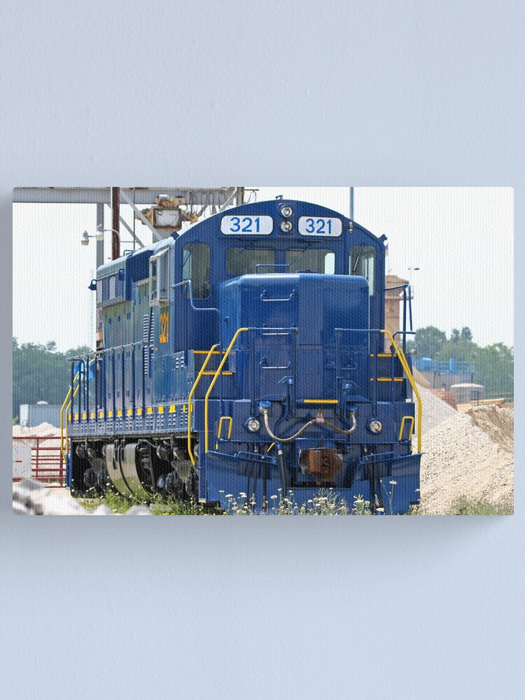 Alternate view of Train Engine Canvas Print
