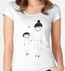 Cecile und Manon Women's Fitted Scoop T-Shirt
