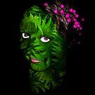 FERNTASTIC PORTRAIT by Elizabeth Burton