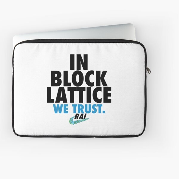 RaiBlocks Nike Parody Laptop Sleeve