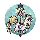 Candy Carousel - Vanilla Bean Unicorn by spiffy-keen