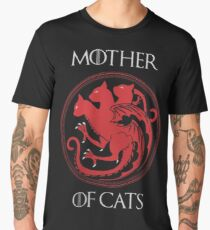 Mother of Cats Men's Premium T-Shirt