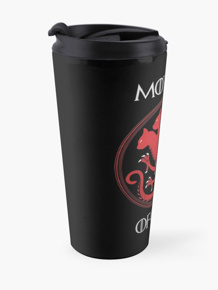 Alternate view of Mother of Cats Travel Mug