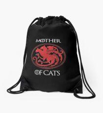 Mother of Cats Drawstring Bag