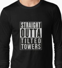 Fortnite Battle Royale - Straight Outta Tilted Towers Long Sleeve T-Shirt