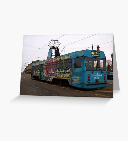 Another Fleetwood Tram Greeting Card