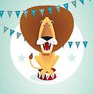 Circus lion von Pia Kolle