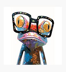 Geeky Toad Photographic Print