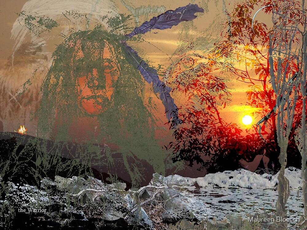 the Sioux Warrior by Maureen Bloesch