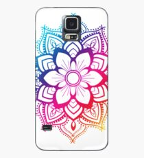 Warm Mandala Case/Skin for Samsung Galaxy