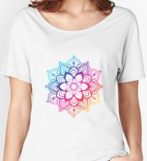 Warm Mandala Women's Relaxed Fit T-Shirt