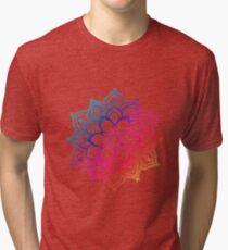 Warm Mandala Tri-blend T-Shirt