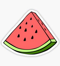 water-mel-on Sticker