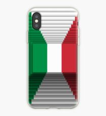 3D Italian flag iPhone Case