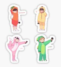 BTS 4TH MUSTER: VOCAL LINE  Sticker