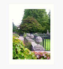 Glamis Gardens Art Print