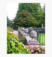 Glamis Gardens Photographic Print