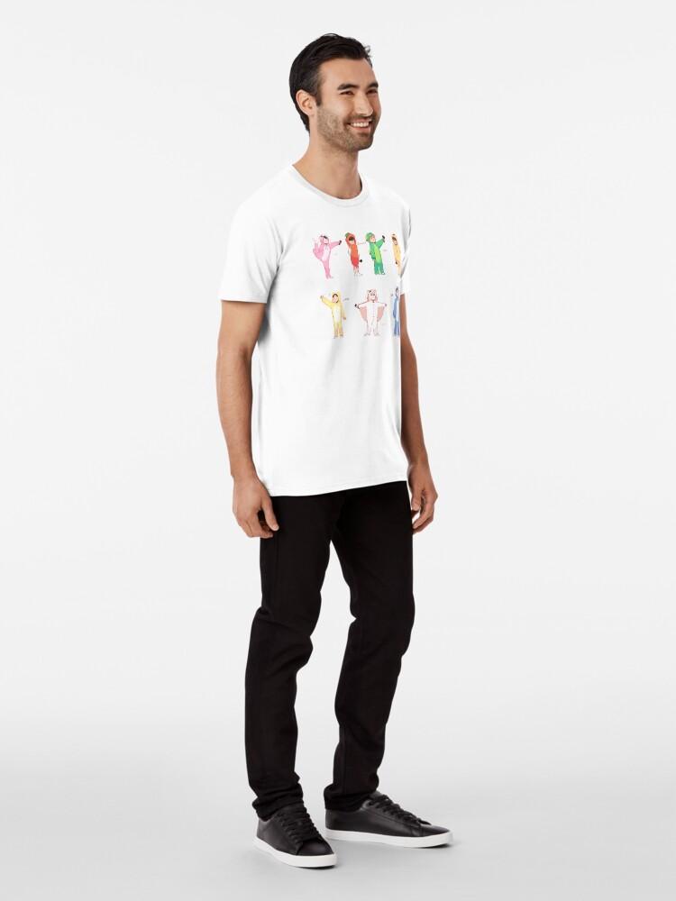 Alternative Ansicht von BTS 4. MUSTER: GRUPPE Premium T-Shirt