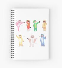 BTS 4TH MUSTER: GROUP Spiral Notebook